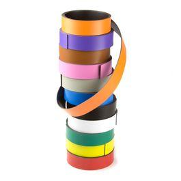 Bande magnétique couleur 20 mm pour y écrire et pour découper, rouleaux d'1 m