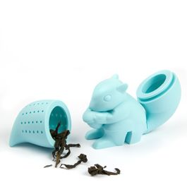 Tea infuser Squirrel silicone tea infuser, non-magnetic!