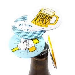 Ouvre-bouteille magnétique pour être fixé sur le frigo ou similaire, lot de 2