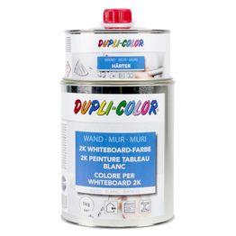 Peinture à tableau blanc L 1 litre pour une surface de 6 m², blanche ou transparente, non magnétique !