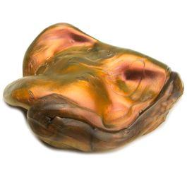 Plastilina inteligente «Superlava» tipo «Flip Flop», naranja-dorado-negro