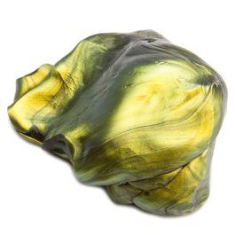 Plastilina inteligente «Supermancha de aceite» tipo «Flip Flop», verde-dorado-negro