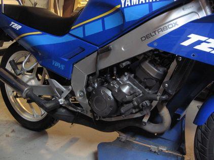 Yamaha vor dem Umbau