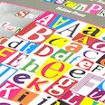 Lettres & chiffres magnétiques, pour écrire des messages, questions & plus, plus de 200 pièces