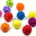 Aimants décoratifs en feutre, avec perles de verre, Set de 3 pièces
