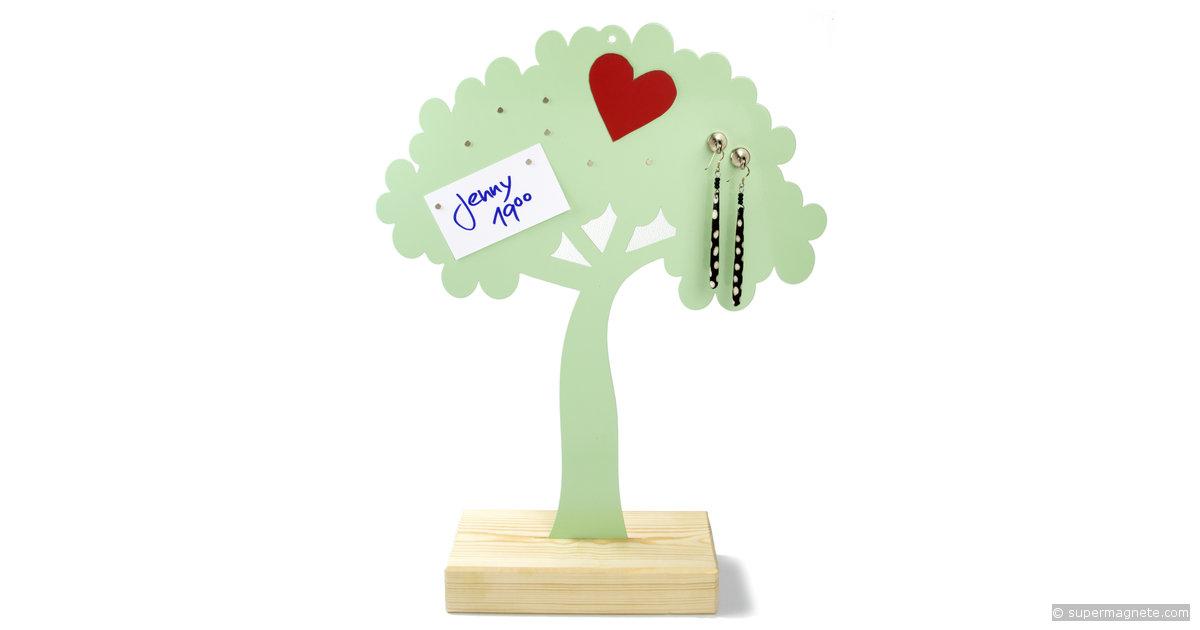tableau magn tique 39 arbre 39 pour bijoux. Black Bedroom Furniture Sets. Home Design Ideas