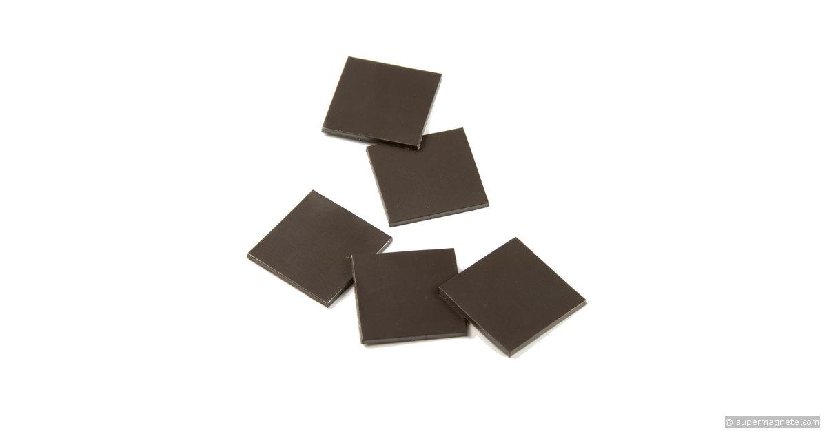 Plaquettes magn tiques autocollante takkis 20x20 mm for Plaquette de parement autocollante