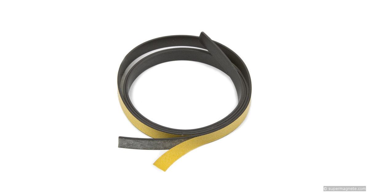 bande magn tique adh sive 10 mm de large. Black Bedroom Furniture Sets. Home Design Ideas