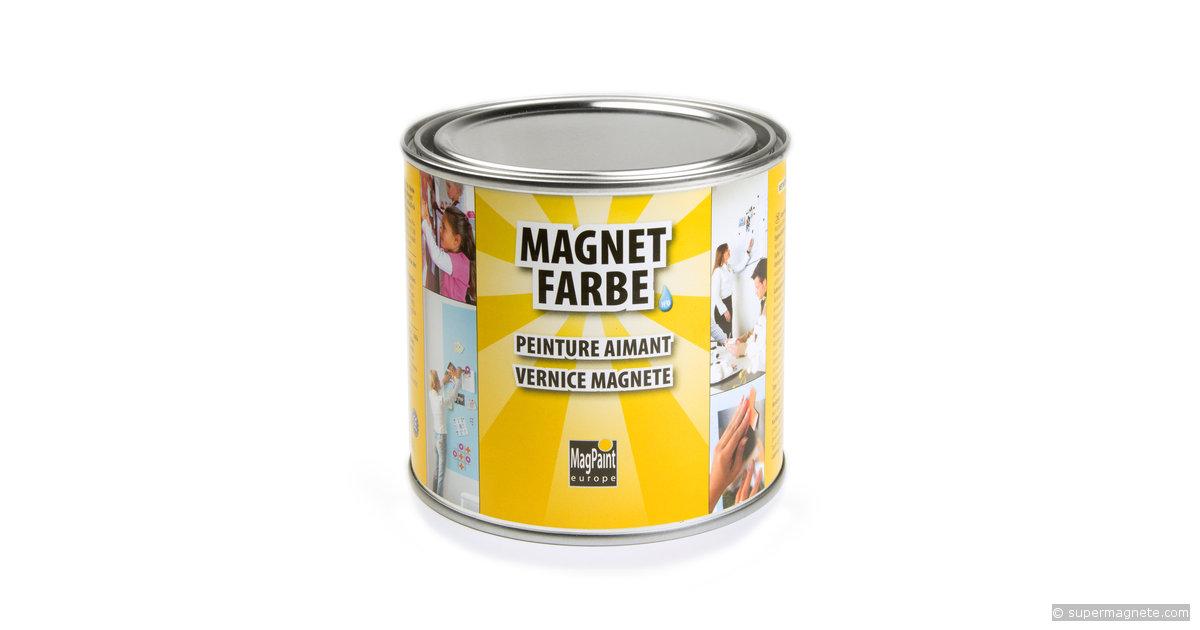 peinture magn tique 0 5 litre suffit pour 1 m tre carr. Black Bedroom Furniture Sets. Home Design Ideas