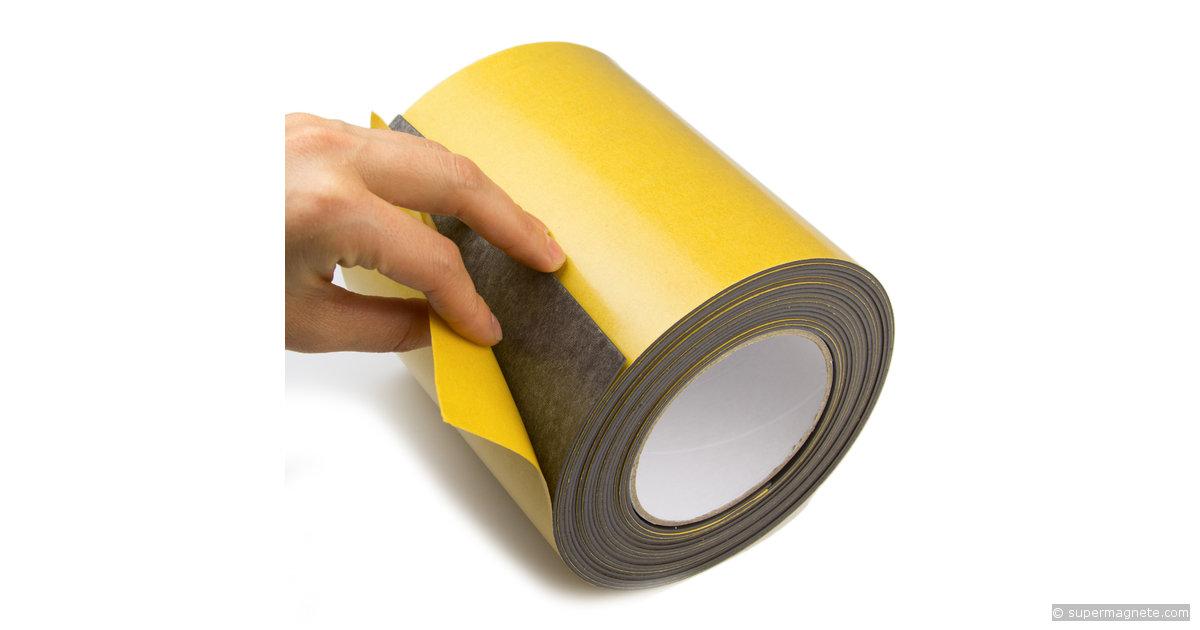 bande magn tique adh sive largeur 150 mm. Black Bedroom Furniture Sets. Home Design Ideas