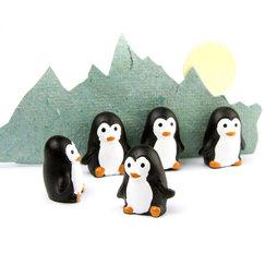 LIV-66, Pingouins, aimants puissants pour réfrigérateur, lot de 6