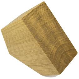 M-KNIFEB-002/oak, Bloc à couteaux magnétique Pentagon, bois de chêne, pour couteaux jusqu'à 900 g