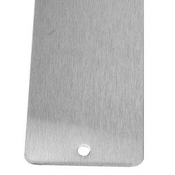 MB-16/steel, Barre magnétique inox 35 cm, support d'adhérence pour aimants, à visser, 6 aimants puissants incl.
