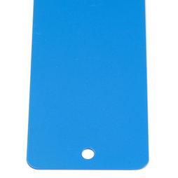 MB-16/blue, Barre magnétique 35 cm, support d'adhérence pour aimants, à visser, 6 aimants puissants incl., bleu