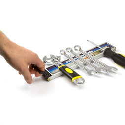 WS-MTH-03, Tool rack magnetic with handle, magnetic strip, tool holder with magnetic backside
