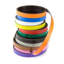 MT-10, Bande magnétique couleur 10 mm, pour y écrire et pour découper, rouleaux d'1 m