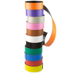 MT-30, Coloured magnetic tape 30 mm, for labelling and cutting, rolls of 1 m