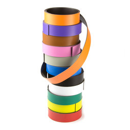 MT-20, Coloured magnetic tape 20 mm, for labelling and cutting, rolls of 1 m