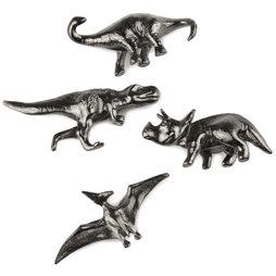 LIV-85, Dinosaurs, decorative fridge magnets, set of 4
