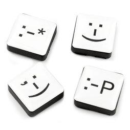 LIV-88, Emoticons, magneti decorativi quadrati, set da 4