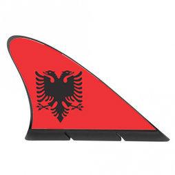M-42/alb, Fanvin landvlag, magneetvlag voor de auto, Albanië