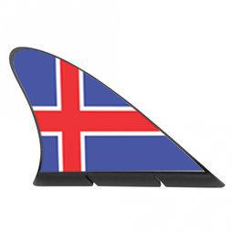 M-42/isl, Fanvin landvlag, magneetvlag voor de auto, IJsland