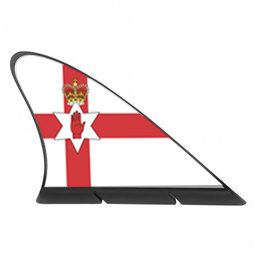 M-42/nir, Fanvin landvlag, magneetvlag voor de auto, Noord-Ierland