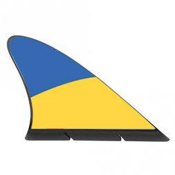 M-42/ukr, Fanvin landvlag, magneetvlag voor de auto, Oekraïne