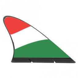 M-42/hun, Fanvin landvlag, magneetvlag voor de auto, Hongarije