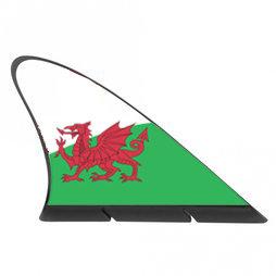 M-42/wls, Fanvin landvlag, magneetvlag voor de auto, Wales