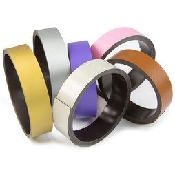 Bande magn tique de couleur pour y crire largeur 20 mm - Bande magnetique autocollante ...