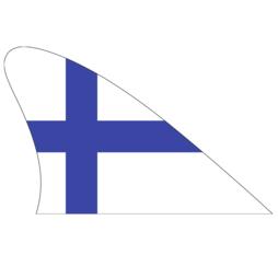 M-42/fin, Fanvin landvlag, magneetvlag voor de auto, Finland