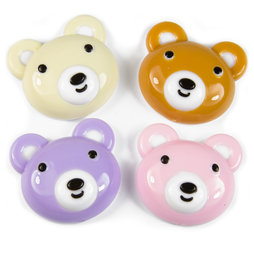 SALE-090, Honey, fridge magnets in bear shape, set of 4