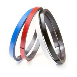 MT-07, Bande magnétique couleur 7 mm, pour y écrire et pour découper, rouleaux d'1 m