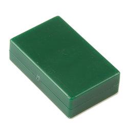 M-BLOCK-01/green, Parallélépipèdes magnétiques avec enrobage en matière synthétique, lot de 5 pcs., vert