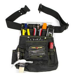 WS-MTP-01, Sacoche à outils magnétique grande, avec 10 compartiments & ceinture