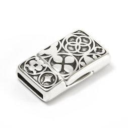 SV-K01, Fermoir pour bijoux magnétique celte, pour bracelets, rectangulaire
