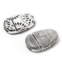 SV-FP-01, Fermoir bijoux magnétique avec motif, pour bracelets, tenue extra-forte