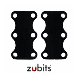 M-ZUB-02/black, Zubits® M, magnetische Schuhbinder, für Jugendliche & Erwachsene, schwarz