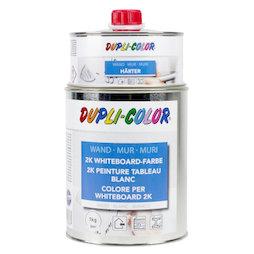 M-WP-1000, Peinture à tableau blanc L 1 litre, pour une surface de 6 m², blanche ou transparente, non magnétique !