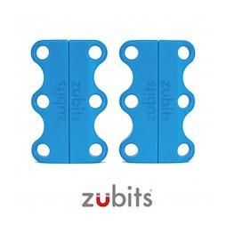 M-ZUB-01/sky, Zubits® S, laçage magnétique pour chaussures, pour enfants & seniors, bleu clair
