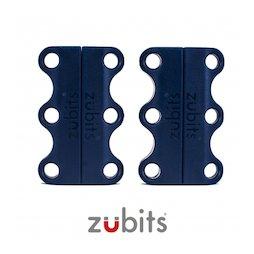 M-ZUB-01/blue, Zubits® S, magnetische schoenveters, voor kinderen & senioren, blauw