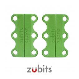 M-ZUB-01/green, Zubits® S, magnetische schoenveters, voor kinderen & senioren, groen