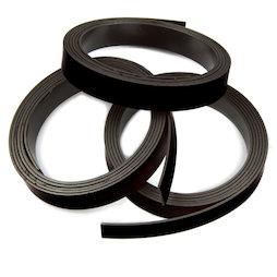 MT-10/black, Nastro magnetico colorato 10 mm, da ritagliare per etichettare, rotoli da 1 m, nero