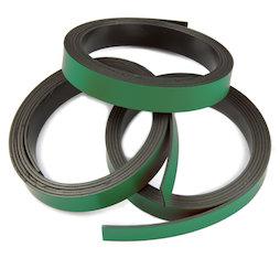 MT-10/green, Nastro magnetico colorato 10 mm, da ritagliare per etichettare, rotoli da 1 m, verde