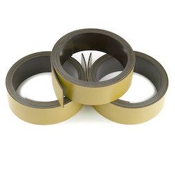 MT-20/gold, Bande magnétique couleur 20 mm, pour y écrire et pour découper, rouleaux d'1 m, coloris or