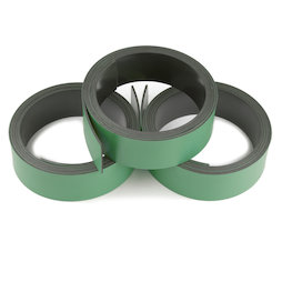 MT-20/green, Green magnetic tape 20 mm, for labelling and cutting, rolls of 1 m