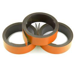 MT-20/orange, Bande magnétique couleur 20 mm, pour y écrire et pour découper, rouleaux d'1 m, orange