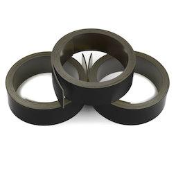 MT-20/black, Bande magnétique couleur 20 mm, pour y écrire et pour découper, rouleaux d'1 m, noir