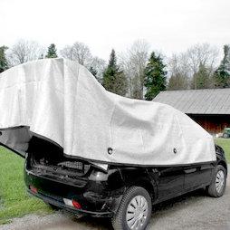 M-ALU-0304, Alunet schaduwnet 80% S, zonwering voor auto en tuin, 3 x 4 m